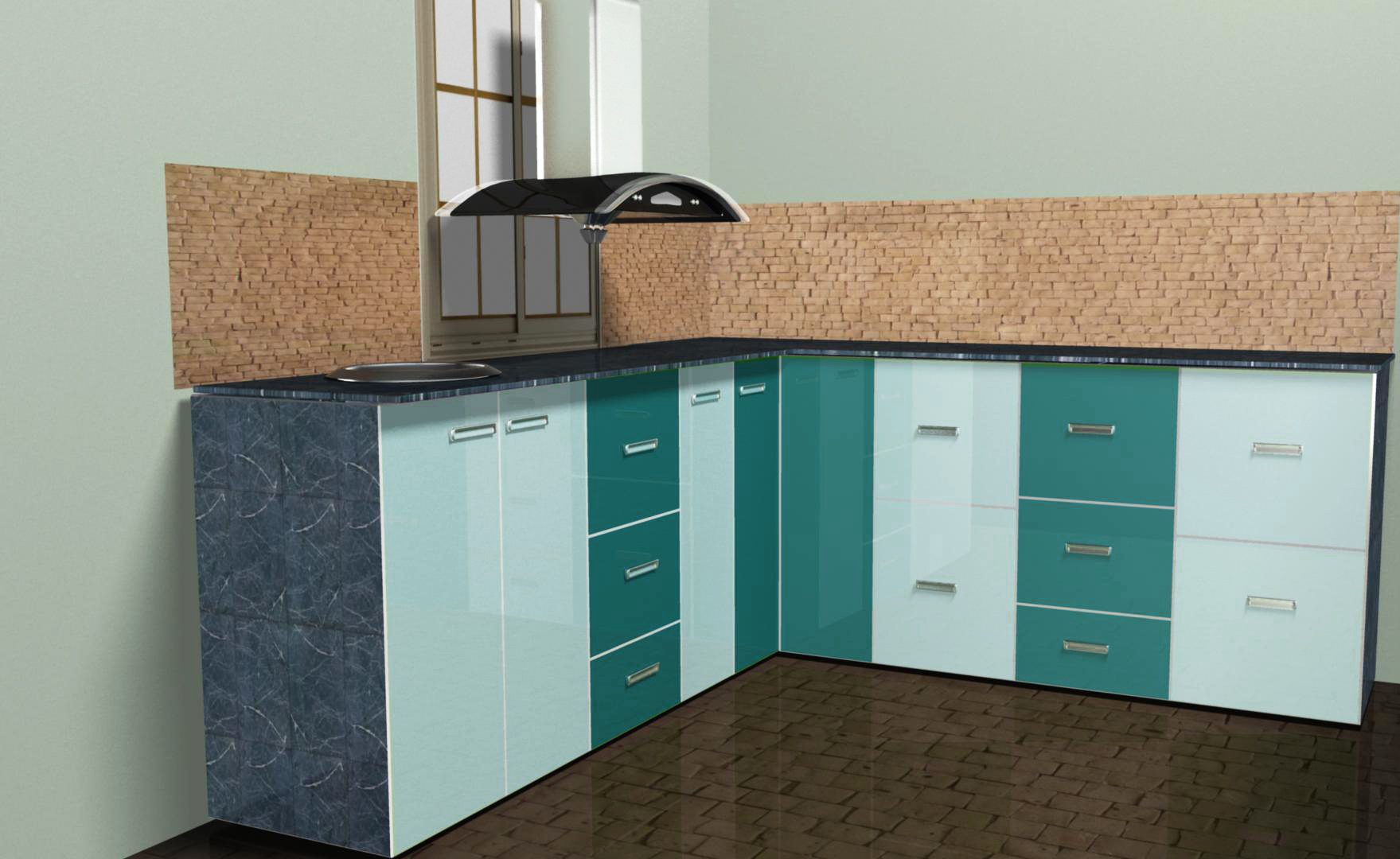 MODULAR KITCHEN | Aqua Secure Plus